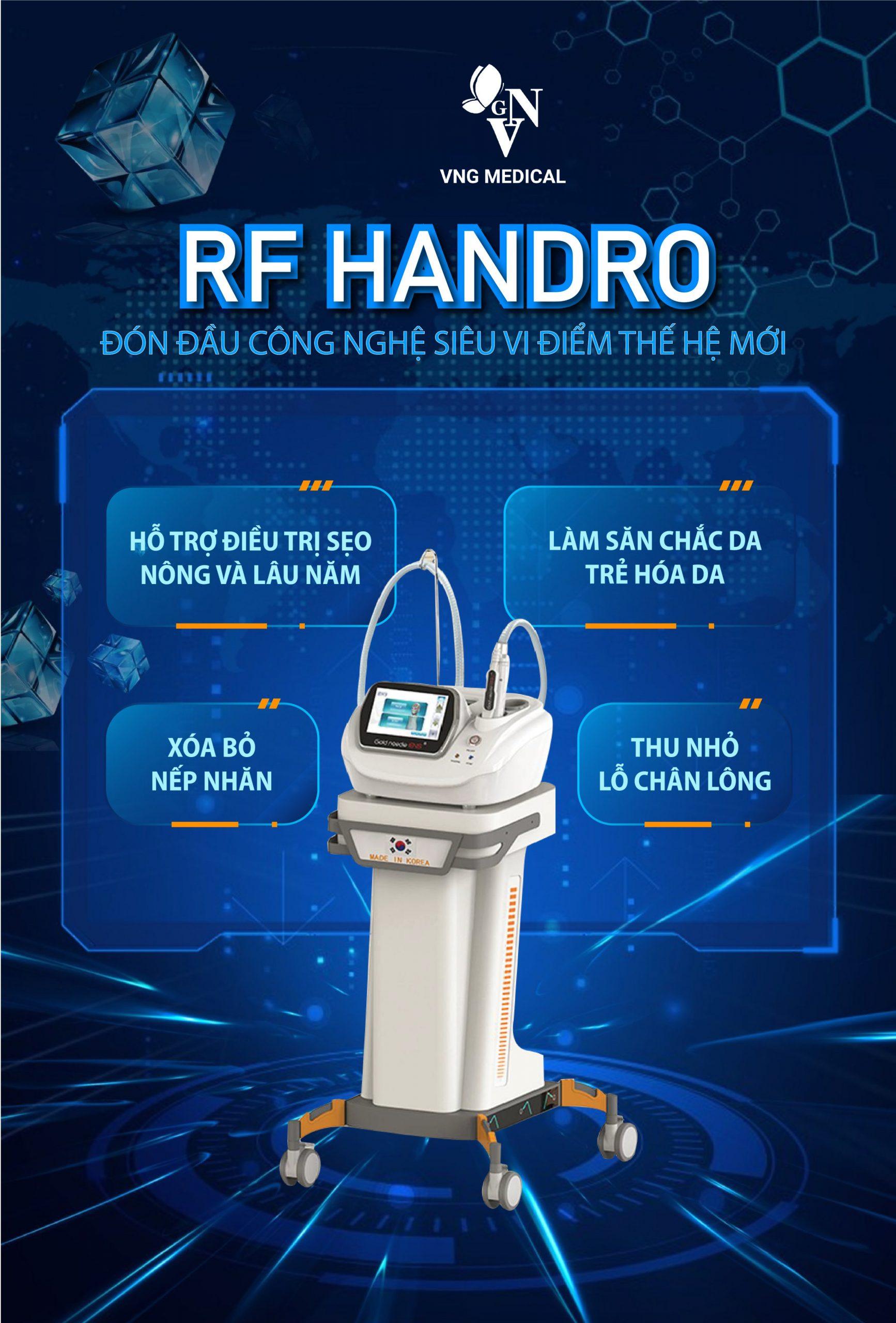 Máy Trị Sẹo RF Siêu Vi Điểm Handro